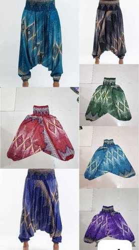 Indian Traditional Printed Alibaba Women Harem Pants