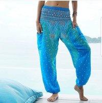 Aladdin Digital Print Casual Yoga Harem Pants