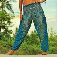 Women's Boho Pants Harem Yoga Pants