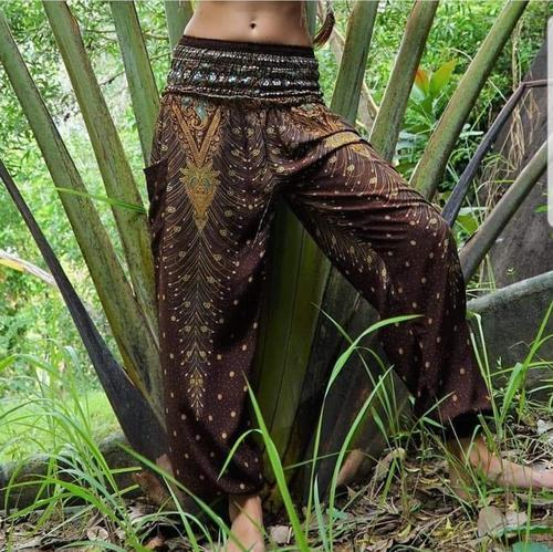 Bali African Female Animal Print 3 Quarter Blank Fat Yoga Pants