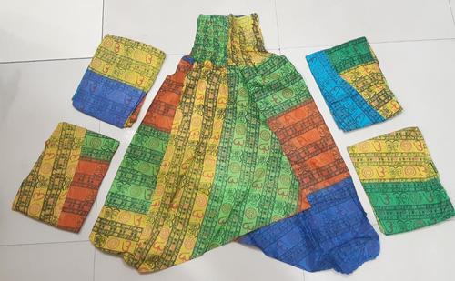 Om Printed Harem Yoga Pants
