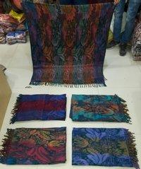 Acrylic Woolen Tibetan Shawls