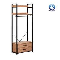 Bedroom Furniture Set Open Wardrobe Drawers Cabinet shelving units/wardrobes