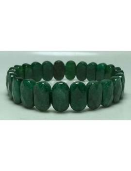 Green Jade Faceted Bracelet