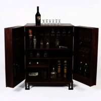 Sheesham Wood Bar Cabinet.