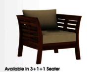 Wooden Sofa Set.