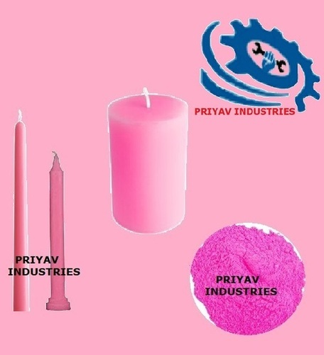 Pink Wax Candle Color