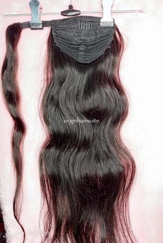 Ponytail Indian Hair