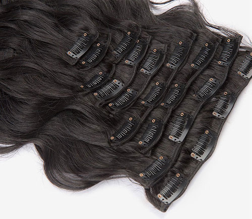 Clip In 613 Hair Extensions