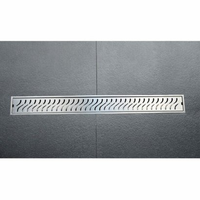 Stainless Steel Shower Channel Drain-Curves