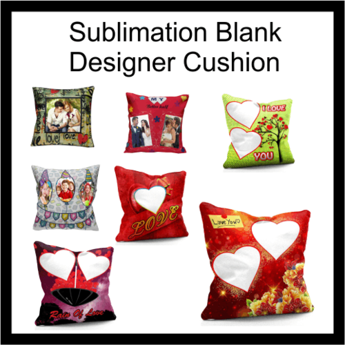 Sublimation blank Designer cushions