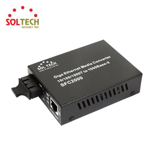 100/1000Mbps Gigabit Ethernet Converter SC type Single and Multi mode Fiber