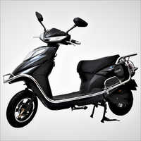 Black Coloured Electric Motor Scooter