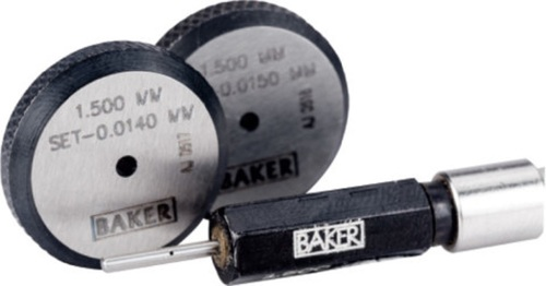 BAKER GAUGES Air Plug Gauge: Range 1.5 - 250 mm