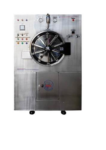 Fully Automatic Horizontal Cylindrical Double Door Steam Sterilizer