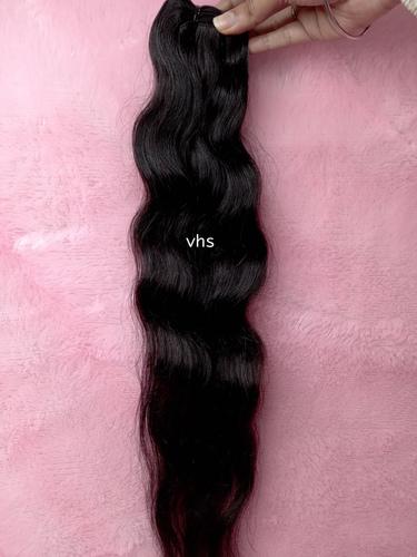 Loose Wavy Temple Hair
