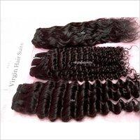 Machine Weft Curly Hair