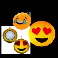 Sublimation Emoji/smiley cushion