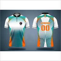 Customized Half Sleeve Sports Jersey