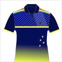 Half Sleeve Sports Printed T-Shirt
