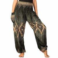Printed Harem pants, Yoga pants,