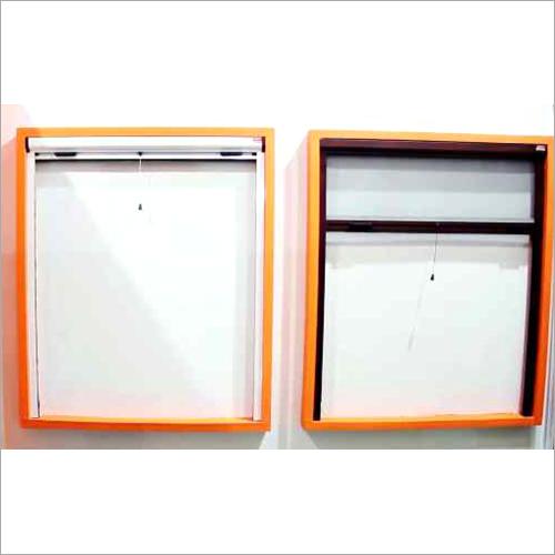 Vertical Window Roller Mesh System