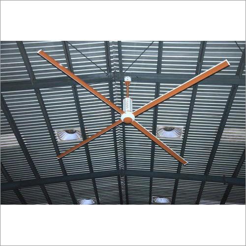 4 Blade Industrial HVLS Fan