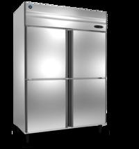 Static 4 Door Freezer