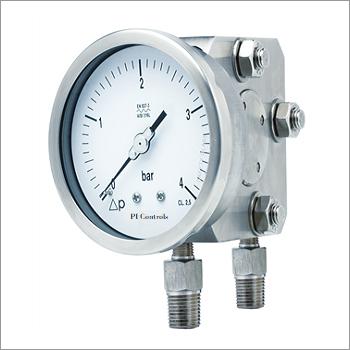 Differential Pressure Gauge - Diaphragm Operated