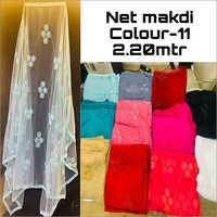Net Dupatta Work Fabric