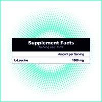 L-Leucine 1000mg Liquid