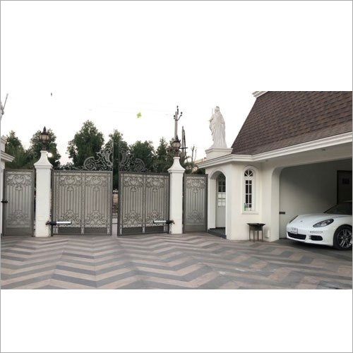 Automatic Swing Gate With Arm Operated Motor