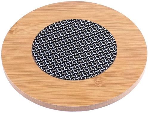 Big Size Wooden Round Pot Heat Pad