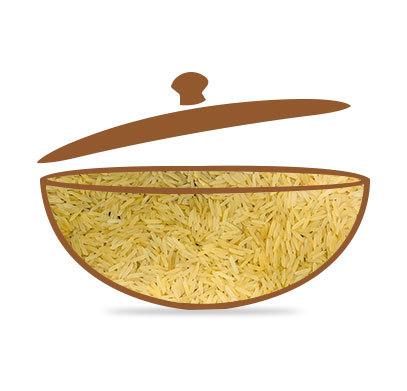 Pesticide Free Golden Sella Rice