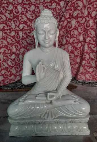Handmade Marble Buddha Statue