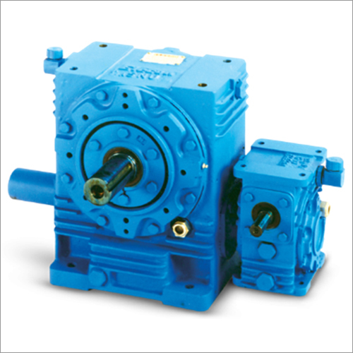 SNU-Series Double Reduction Worm Gearbox