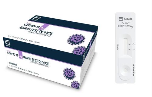 Abbott Panbio COVID-19 Antigen Test device