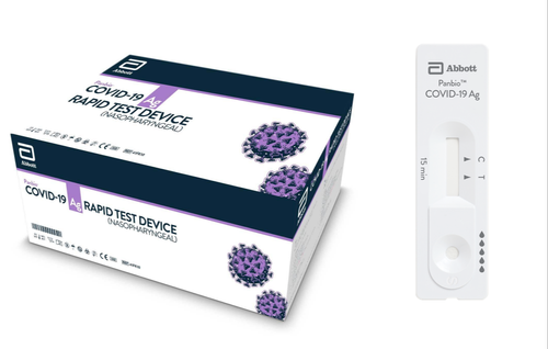 Abbott Panbio COVID-19 Rapid Antigen Test (WHO Approved)