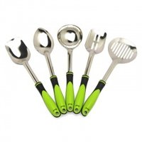 5 PC ZICON SERVING SET COOKING SPOON