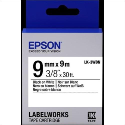 LK-3WBN 9MM B/W Lable Tape