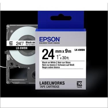 LK-6WBN 24MM B/W Label Tape