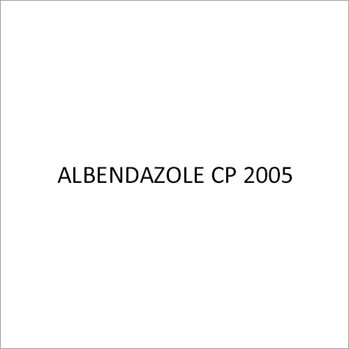 Albendazole CP 2005