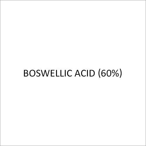 Boswellic Acid (60%)