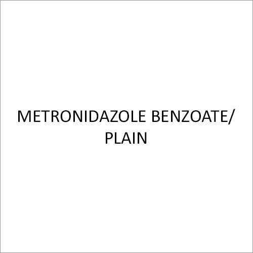 Metronidazole Benzoate-Plain