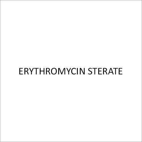 Erythromycin Sterate