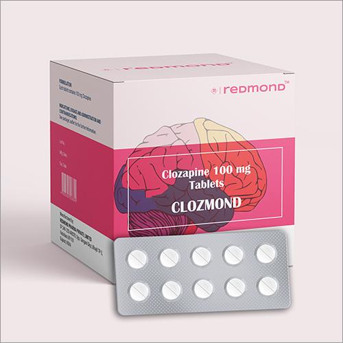 100 MG Clozapine Tablets