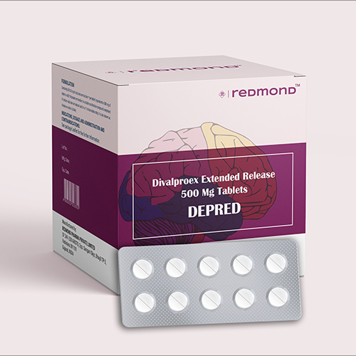 500 MG Divalproex Extended Release Tablets