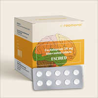 20 MG Escitalopram Film-Coated Tablets