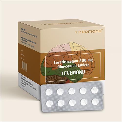 500 MG Levetiracetam Film-Coated Tablets