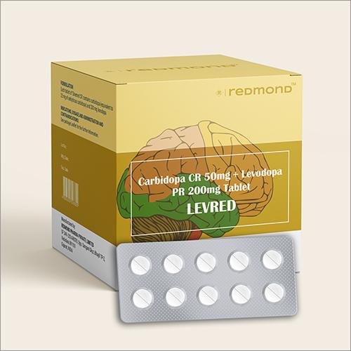 Carbidopa CR 500 MG + Levodopa PR 200 MG Tablets